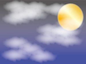 イラスト お月見 雲