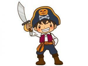 ハロウィン 仮装 海賊