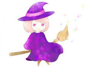 ハロウィン 魔女 魔法少女