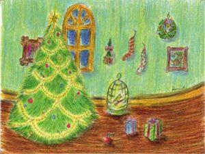 クリスマス 手書き イラスト