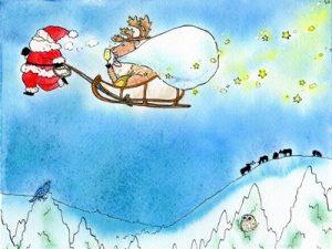 クリスマス イラスト 手書き風 可愛い
