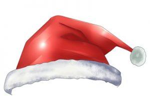 サンタクロース 帽子