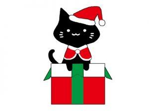 クリスマス イラスト 猫