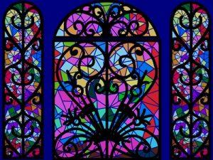 教会 イラスト ステンドグラス