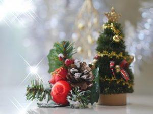 クリスマスツリー 置物 雑貨