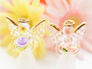 天使の置物 クリスマス雑貨