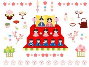 ひな祭り イラスト 素材 かわいい 無料 フリー