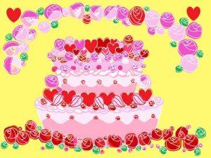 バースデーケーキ 誕生日ケーキ イラスト 背景 無料 フリー おすすめ