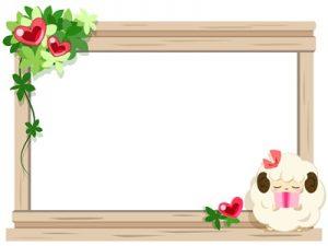 誕生日カード イラスト 羊 無料 フリー