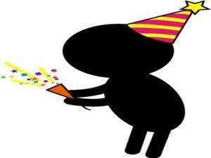 誕生日 バースデーカード イラスト 面白い フレーム テンプレート 無料 フリー