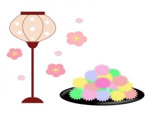 ひな祭り 金平糖 イラスト 無料 フリー
