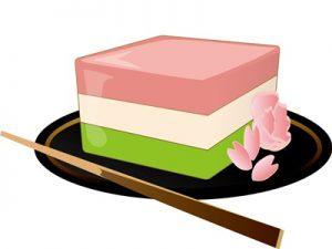 菱餅 イラスト ひな祭り お菓子 無料 フリー