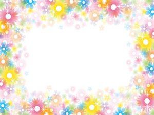 ホワイトデー イラスト 花 フレーム 枠 無料 フリー