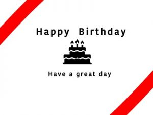 誕生日オシャレなバースデーカードのイラスト無料素材おすすめ