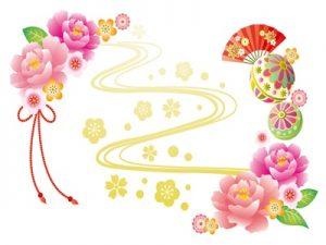 ひな祭り 桃の節句 花 フレーム イラスト 無料 フリー