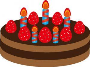 バースデーケーキ イラスト かわいい 無料 フリー