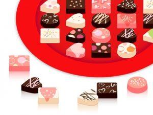 ホワイトデー お菓子 チョコレート イラスト 無料 フリー素材