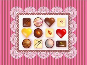 バレンタイン イラスト チョコレート 可愛い 無料 フリー