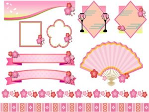 桃の節句 花 イラスト 素材 無料 フリー