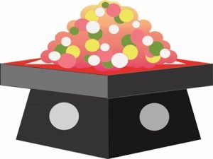 ひなあられ イラスト ひな祭り お菓子 無料 フリー
