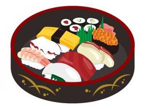 花見弁当 お寿司 イラスト 無料 フリー