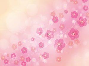 梅の花 イラスト 背景 かわいい 無料 フリー