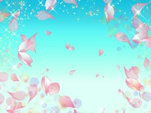 桜吹雪 イラスト 無料 フリー