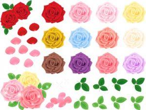 薔薇 バラ イラスト リアル 無料 フリー