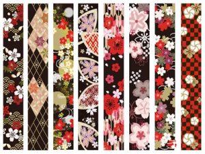 お花見 桜 和柄 イラスト おしゃれ 無料 フリー素材