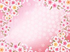 花 イラスト フレーム 枠 無料 フリー素材