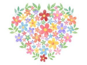 可愛い花のイラスト Iphone壁紙ギャラリー