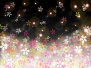 お花見 夜桜 イラスト 背景 無料 フリー素材