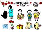 母の日 イラスト かわいい 可愛い 無料 フリー