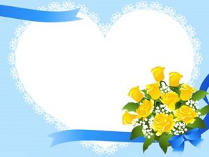 花束 イラスト フレーム かわいい 無料 フリー