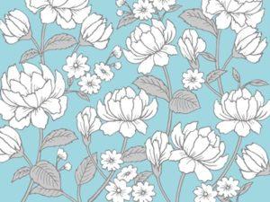 花 イラスト 手描き 背景 壁紙 無料 フリー