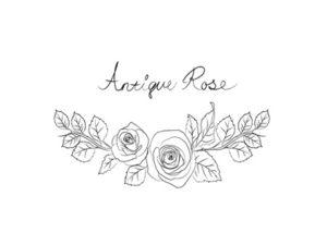 花 イラスト 塗り絵 おしゃれ 白黒 薔薇 無料 フリー