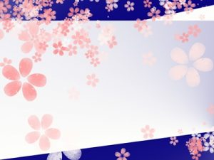 お花見 桜 イラスト フレーム おしゃれ 無料 フリー