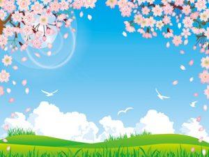 お花見 桜 背景 イラスト 無料 フリー