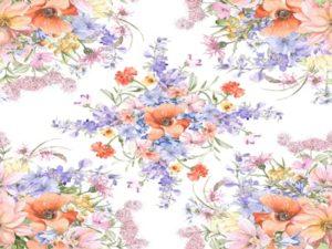 花 イラスト 水彩画 背景 壁紙 無料 フリー