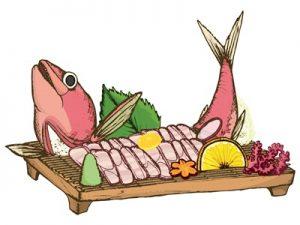 鯛 刺し身 イラスト 子供の日 端午の節句 無料 フリー素材