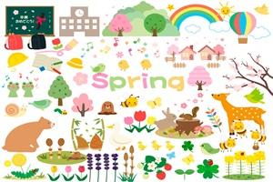 無料素材春のかわいいイラストおすすめ じゃぱねすくライフ