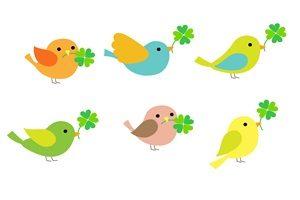春 イラスト 鳥 無料 フリー