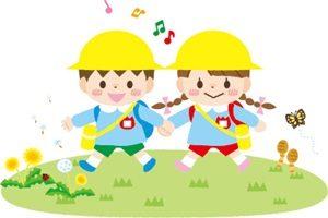 春 イラスト 遠足 ピクニック 行楽 幼稚園 かわいい 無料 フリー