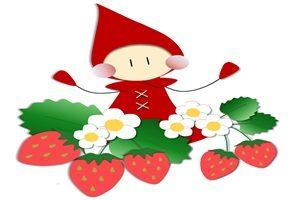 苺 妖精 イラスト かわいい 無料 フリー
