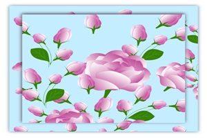 薔薇 バラ イラスト 背景 壁紙 オシャレ かわいい 無料 フリー