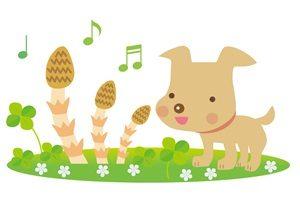 春 イラスト 犬 かわいい 無料 フリー
