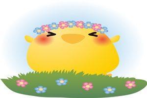 春 イラスト ひよこ 無料 フリー