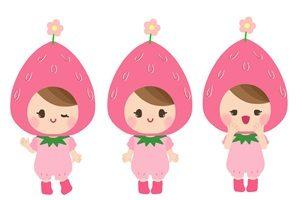 苺 帽子 女の子 イラスト かわいい 無料 フリー