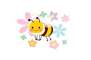 春 イラスト 蜂 かわいい 無料 フリー