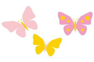 春 イラスト 蝶 ちょうちょ 無料 フリー